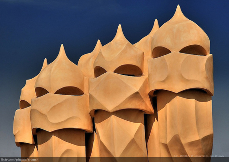 faces of gaudi