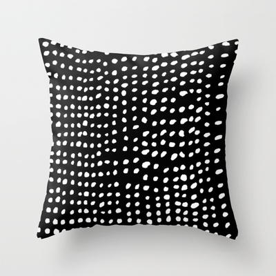 dots throw pillow society 6