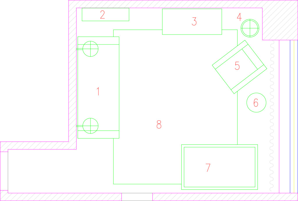 final room layout