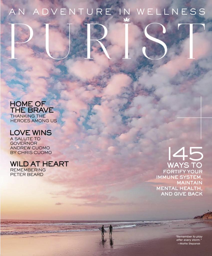 Purist magazine cover