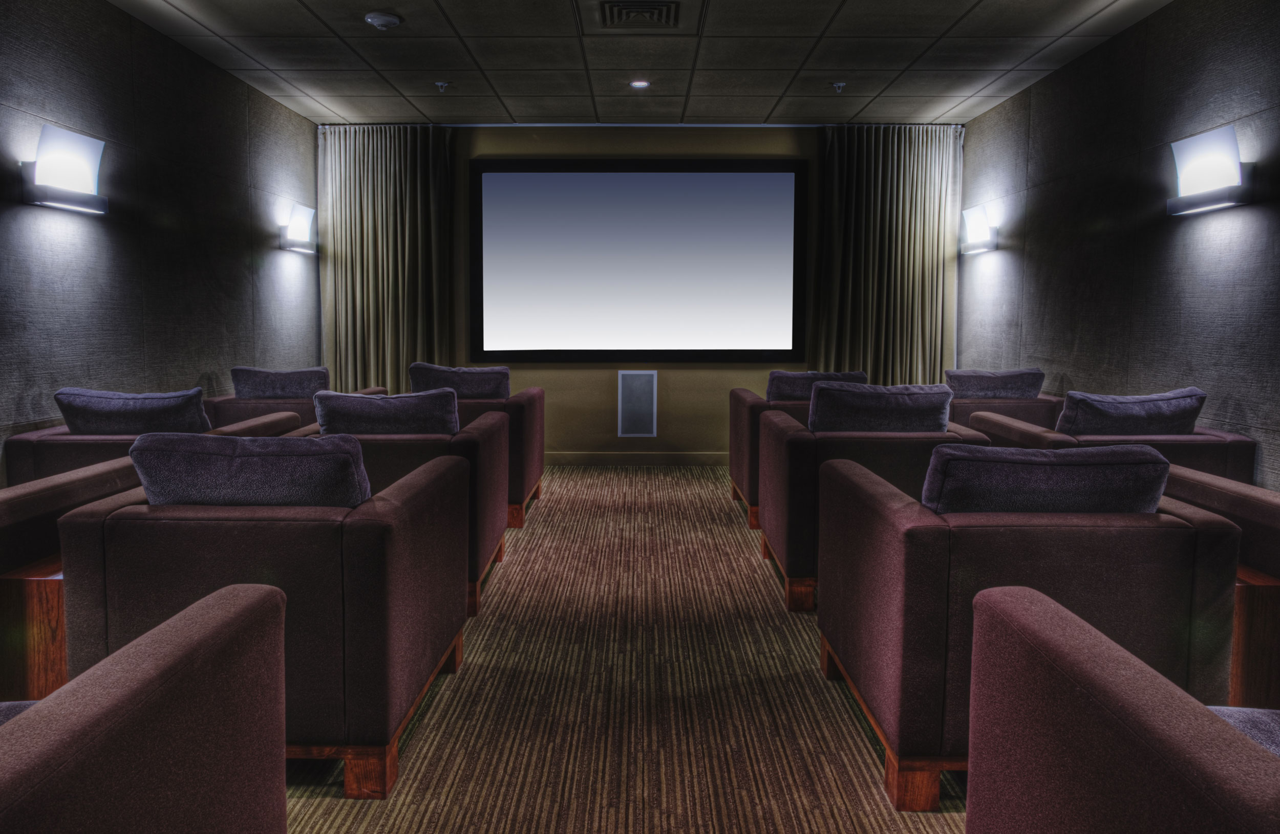 Media Room & Home Theatre Seating Ideas